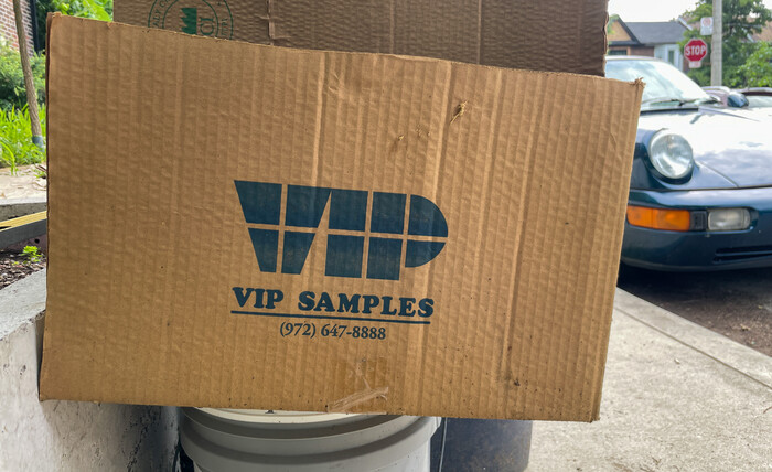 VIP Samples logo (–2017)