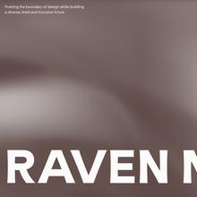 Raven Mo portfolio website