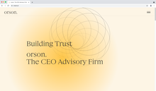 Orson website