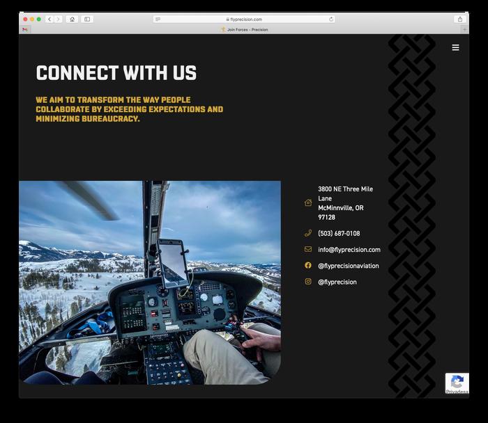 Precision website 8