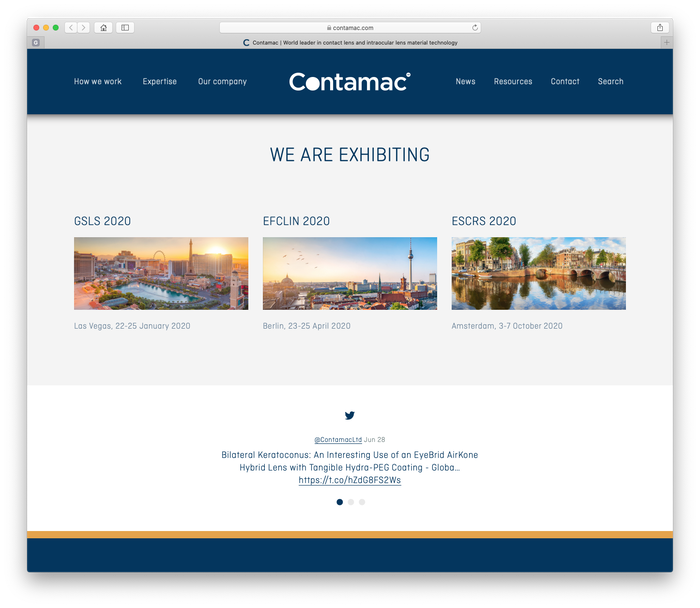Contamac website 6