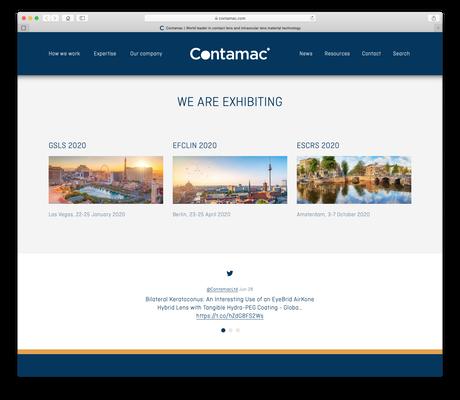 Contamac website 10
