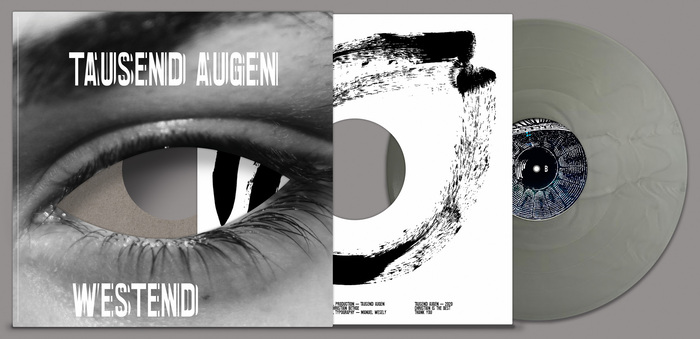 """LP cover, """"light"""" inner sleeve and silver colored vinyl"""