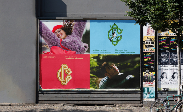 Les Champs Libres visual identity 6