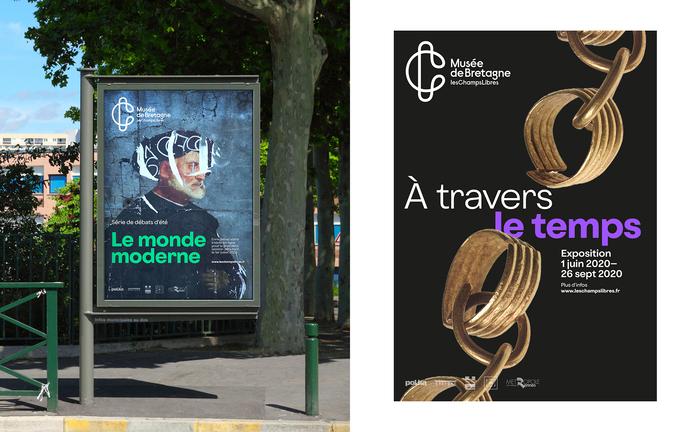 Les Champs Libres visual identity 7