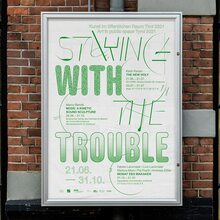 <cite>Staying with the trouble</cite>