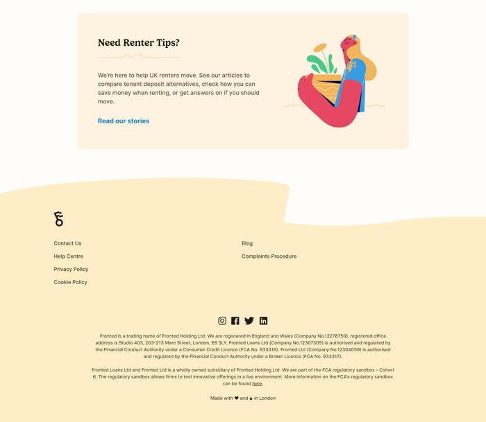 Fronted website 5