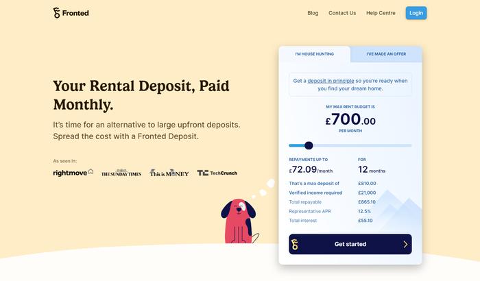 Fronted website 1