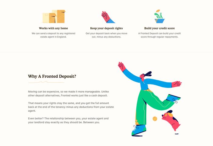 Fronted website 2