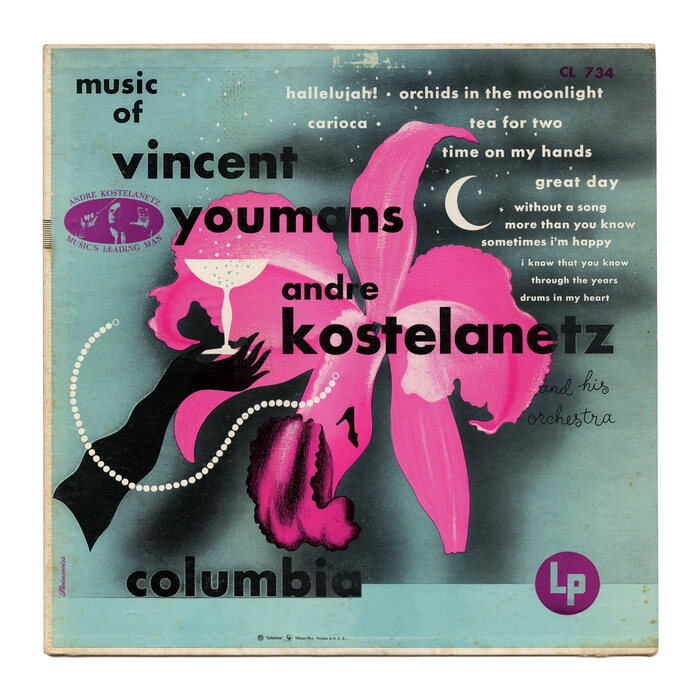 Andre Kostelanetz and His Orchestra – Music of Vincent Youmans album art