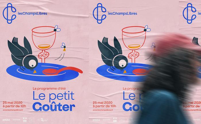 Les Champs Libres visual identity 11