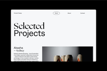 Vincent Casey portfolio website