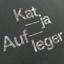 <cite>Schwindelerregende Höhen. Katja Aufleger</cite> exhibition catalog