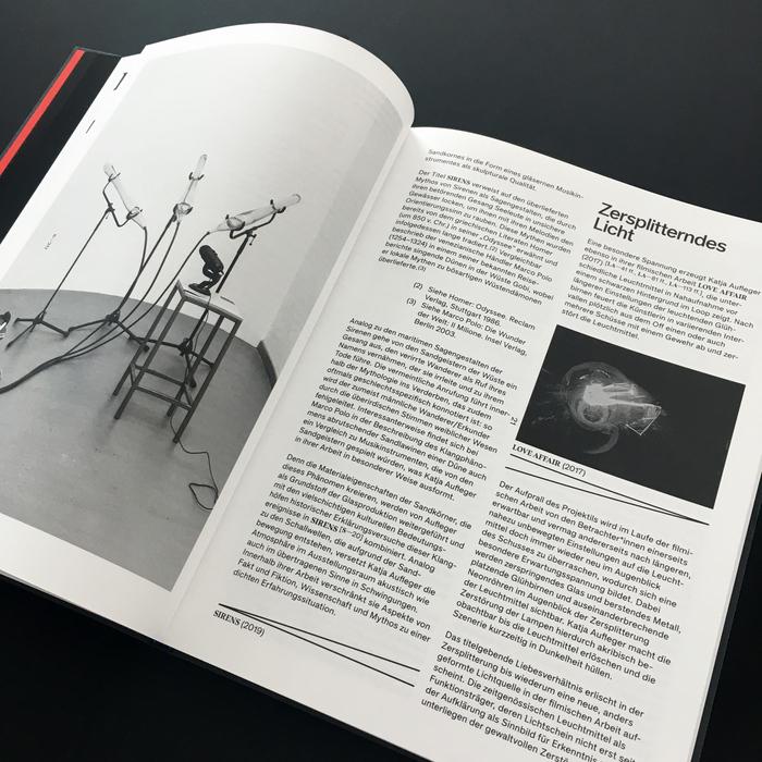 Schwindelerregende Höhen. Katja Aufleger exhibition catalog 3