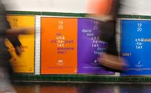 Théâtre Musical de Paris Châtelet visual identity system