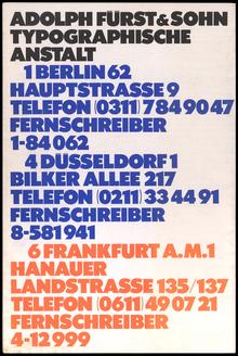 <cite>Schriftindex Adolph Fürst &amp; Sohn</cite>