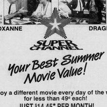 Superchannel newspaper ad (1988)