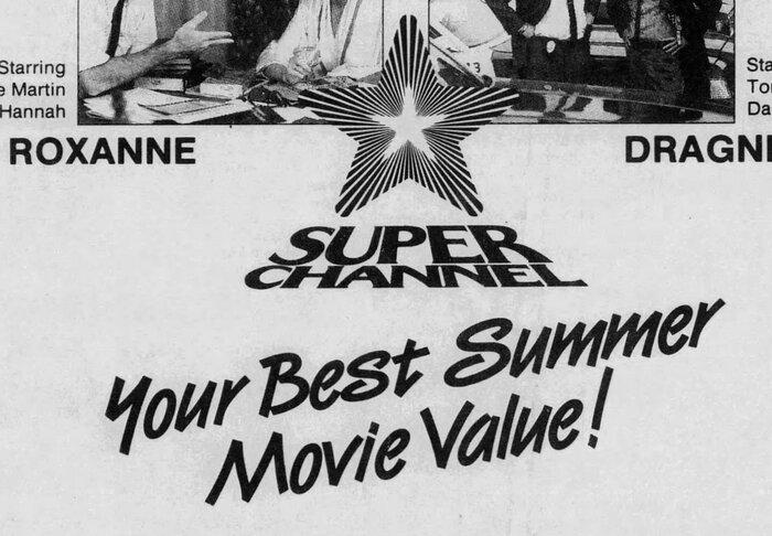 Superchannel newspaper ad (1988) 2