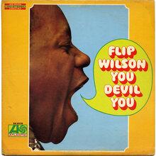 Flip Wilson – <cite>You Devil You</cite> album art