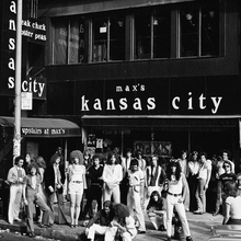 Max's Kansas City logo (1965–1981)