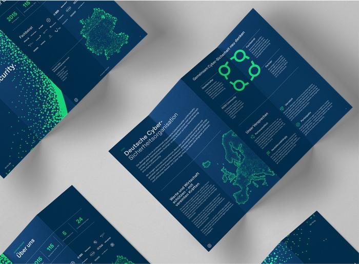 German Cyber Security Organization brand identity 4