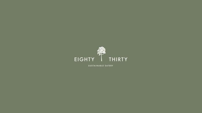 Eighty Thirty logo and branding 1