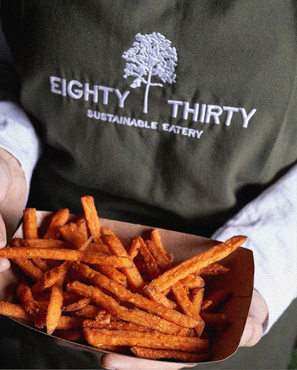 Eighty Thirty logo and branding 4