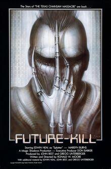 <cite>Future-Kill</cite> (1985) movie poster