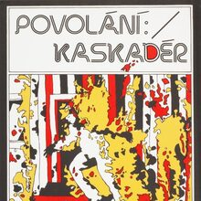 <cite>Stunts</cite> (1977) Czechoslovak movie poster