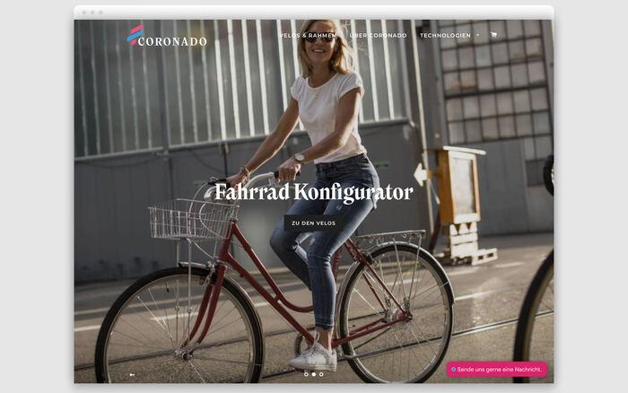 Coronado Bike branding and website 2