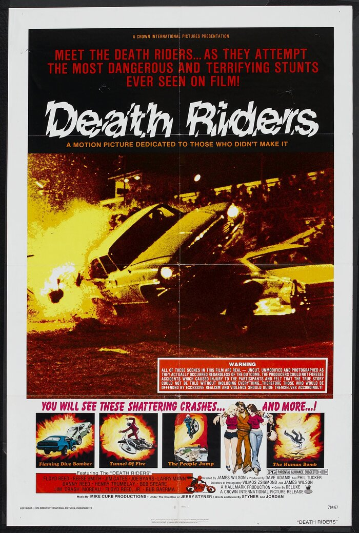 Death Riders (1976) movie poster