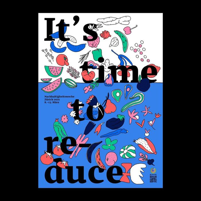 It's time to… sustainability week poster series 3