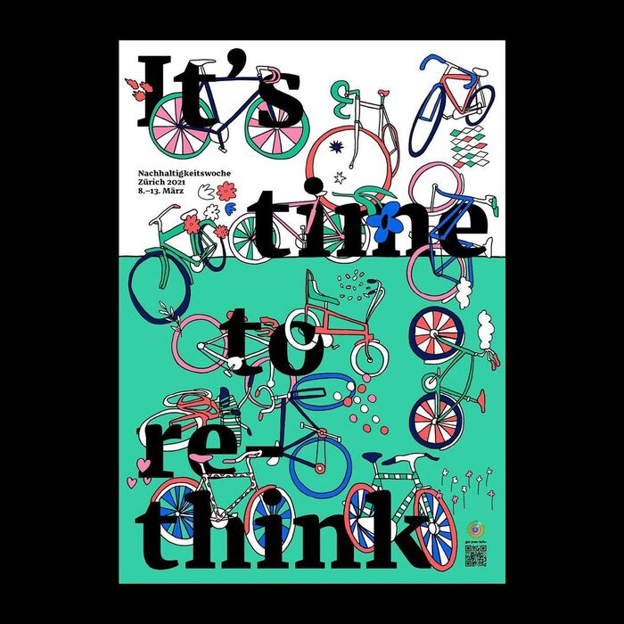 It's time to… sustainability week poster series 4