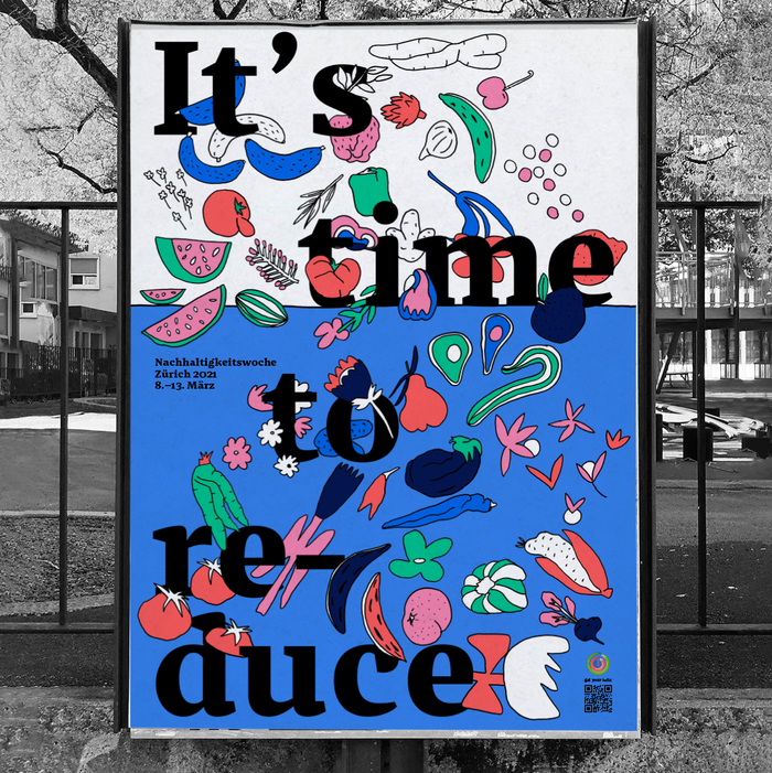 It's time to… sustainability week poster series 1