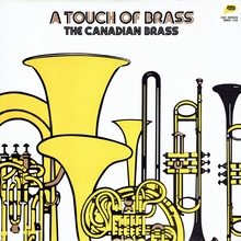 The Canadian Brass – <cite>A Touch of Brass</cite> album art