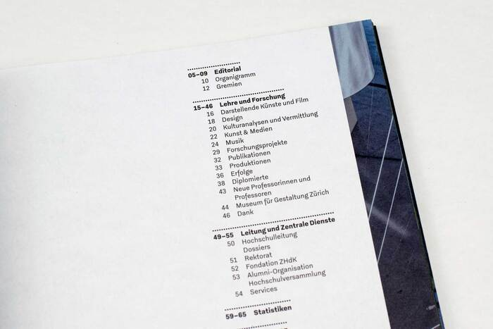 Zurich University of the Arts annual report 2019 3