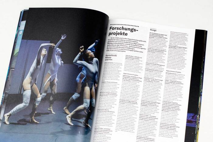 Zurich University of the Arts annual report 2019 14