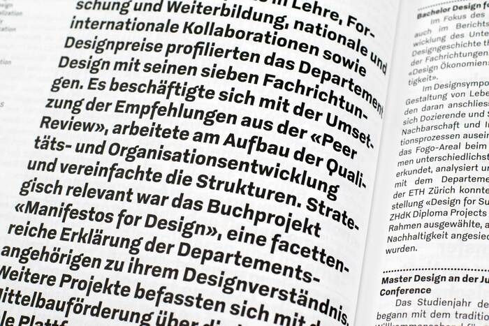 Zurich University of the Arts annual report 2019 18