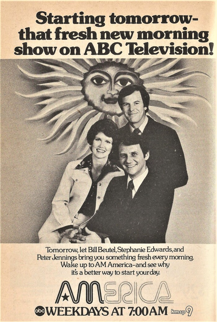 Ad in the Minneapolis-St. Paul edition of TV Guide, January 1975, using .