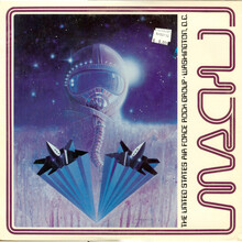 The United States Air Force Rock Group – <cite>Mach 1</cite> album art