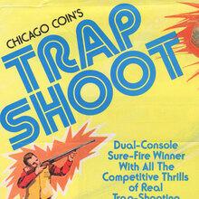 <cite>Trap Shoot</cite> arcade game flyer