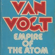 <cite>Empire of the Atom</cite> by A.E. van Vogt (Manor)
