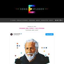 Song Exploder website