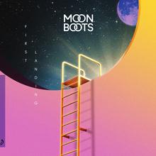 Moon Boots – <cite>First Landing</cite> album art, singles, merchandise and tour graphics