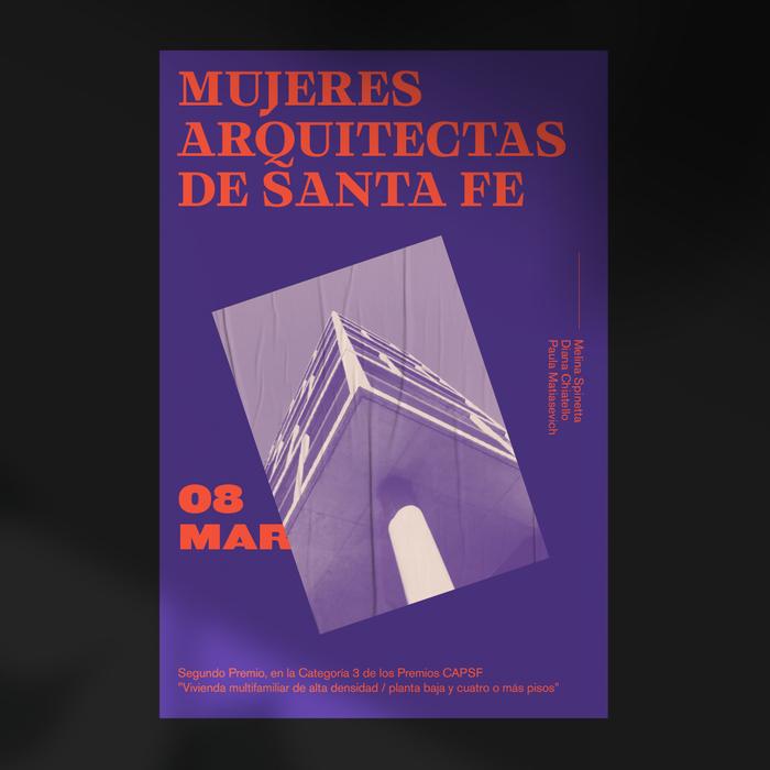 Mujeres arquitectas de Santa Fe poster