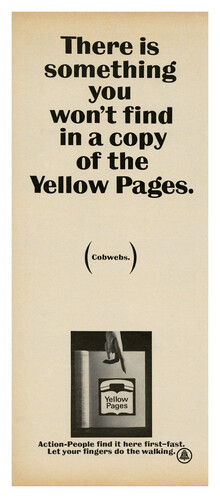 Yellow Pages ads (1966)