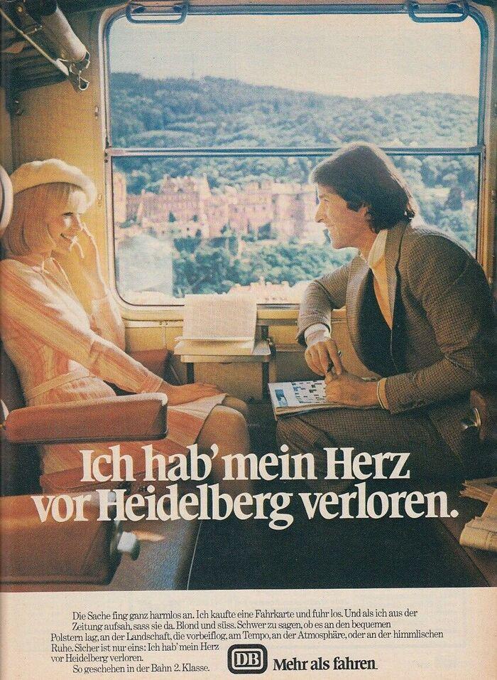 """""""Ich hab' mein Herz vor Heidelberg verloren."""" (1974)"""