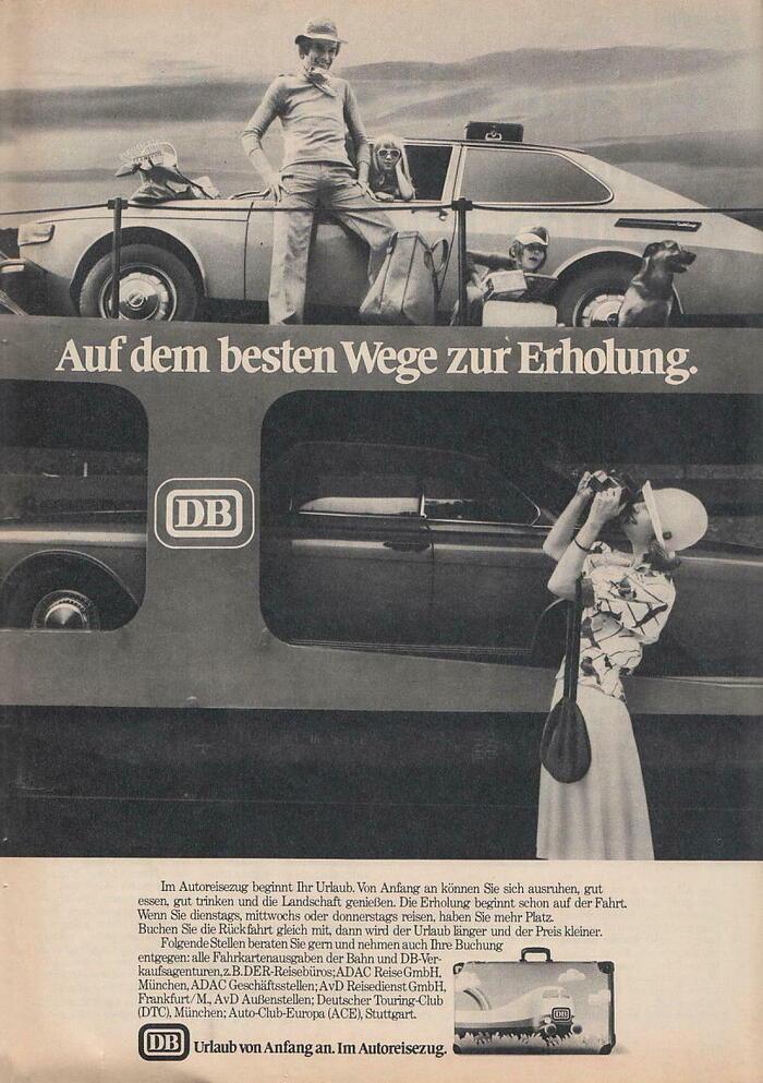 """""""Auf dem besten Wege zur Erholung."""" (1975)"""