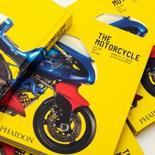 <cite>The Motorcycle: Design, Art, Desire</cite> by <span>Charles M. Falco and Ultan Guilfoyle (Phaidon)</span>