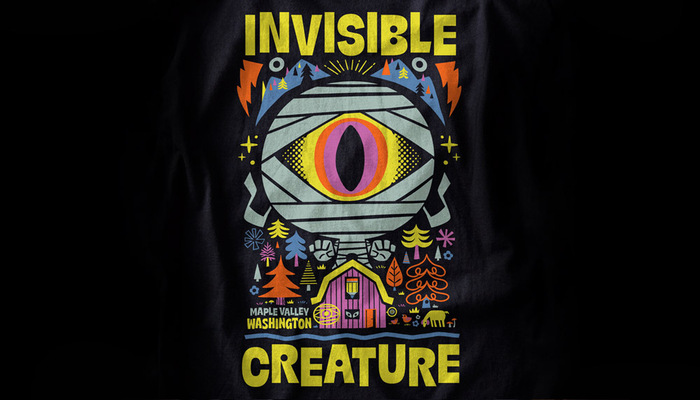 """Chris Lee × IC – """"Invisible Creature"""" T-shirt 3"""